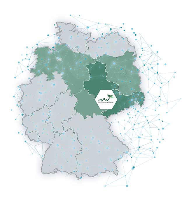 map CENTRAL GERMANY